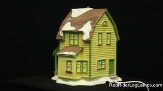 Department 56 A Christmas Story Village Farkus House RETIRED