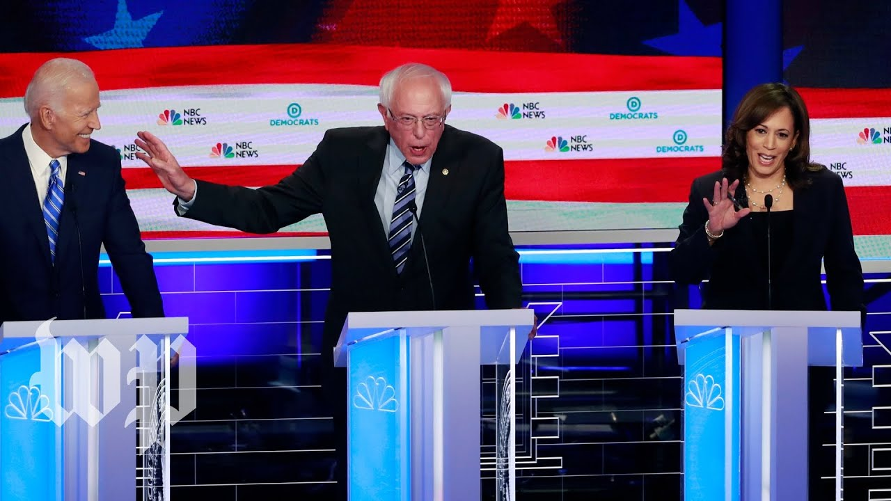 Awkward moments from night two of the first Democratic debate