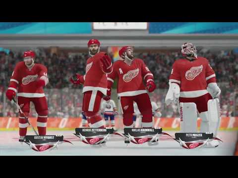 NHL 18 Beta - New York Islanders v Detroit Red Wings (NHL Threes)