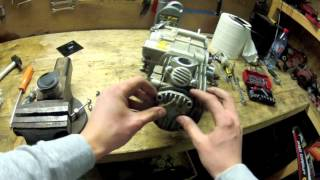 Moteur de dirt bike 150 yx remontage/rebuild