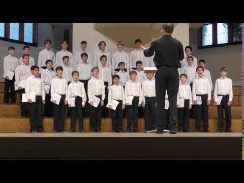 Escolania del Escorial in Deutschland (June 23, 2017) Finale and Applause (excerpt)