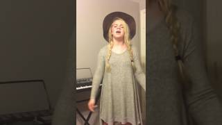 "14 year old singer, Emma Grace singing ""Bless the Broken Road"" by Rascal Flatts"
