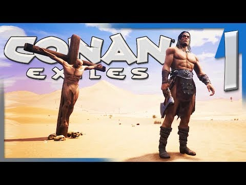 A RETURN TO A NEW BEGINNING!   Conan Exiles Multiplayer Let's Play/Gameplay S4E1