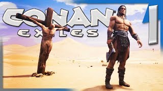 A RETURN TO A NEW BEGINNING! | Conan Exiles Multiplayer Let's Play/Gameplay S4E1