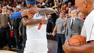 LeBron and Melo Duel in Cleveland