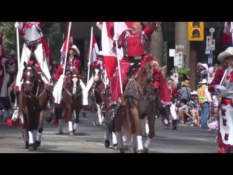 2017 Calgary Stampede Parade Part 2 卡爾加里牛仔節大遊行中文解說(下)