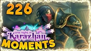 Hearthstone Karazhan Daily Funny And Lucky Moments Ep. 226 | Epic Rogue Combo!!