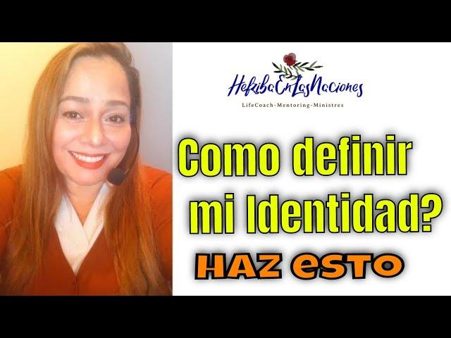 #2 ELEMENTOS PARA DEFINIR MI IDENTIDAD