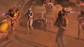 клип- звездные войны войны клонов (комотоз)