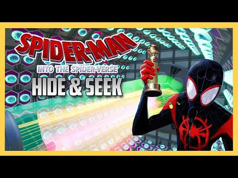 The AMAZING Into The Spider Verse Spiderman Hide And Seek Map!