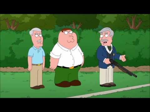 Family Guy  shooting Michael Stipe