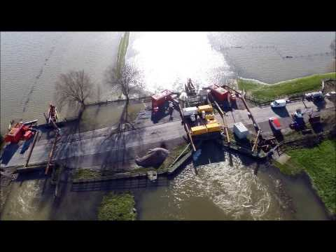 Dutch Pumping Systems at 7 Bends on the Somerset Levels