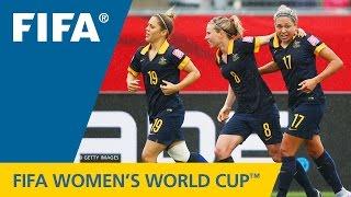 HIGHLIGHTS: Brazil v. Australia - FIFA Women's World Cup 2015