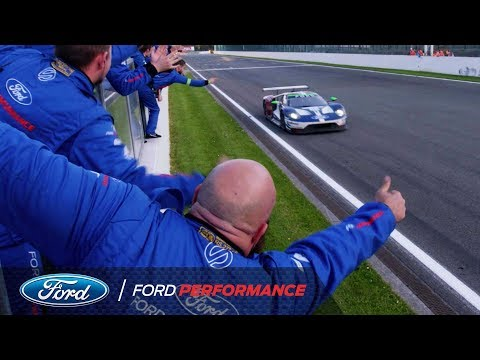 Ford GT wins WEC season opener at Spa   Ford Performance