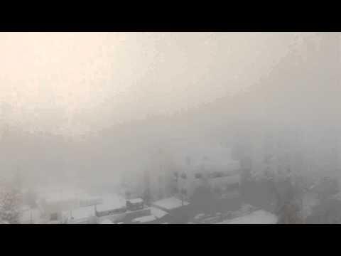 Snow storm in amman now