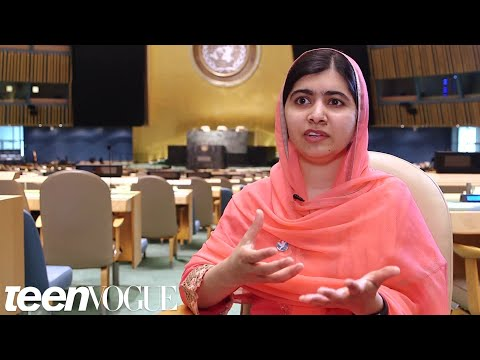 Why Malala Yousafzai Thinks Teenage Girls Will Save the World | Teen Vogue