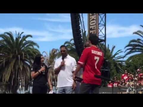 Jerry Rice and Marcus Allen At #NFLKickoff - Zennie62