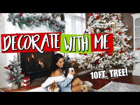 Decorate With Me - CHRISTMAS TREE DECOR 2017 | Belinda Selene
