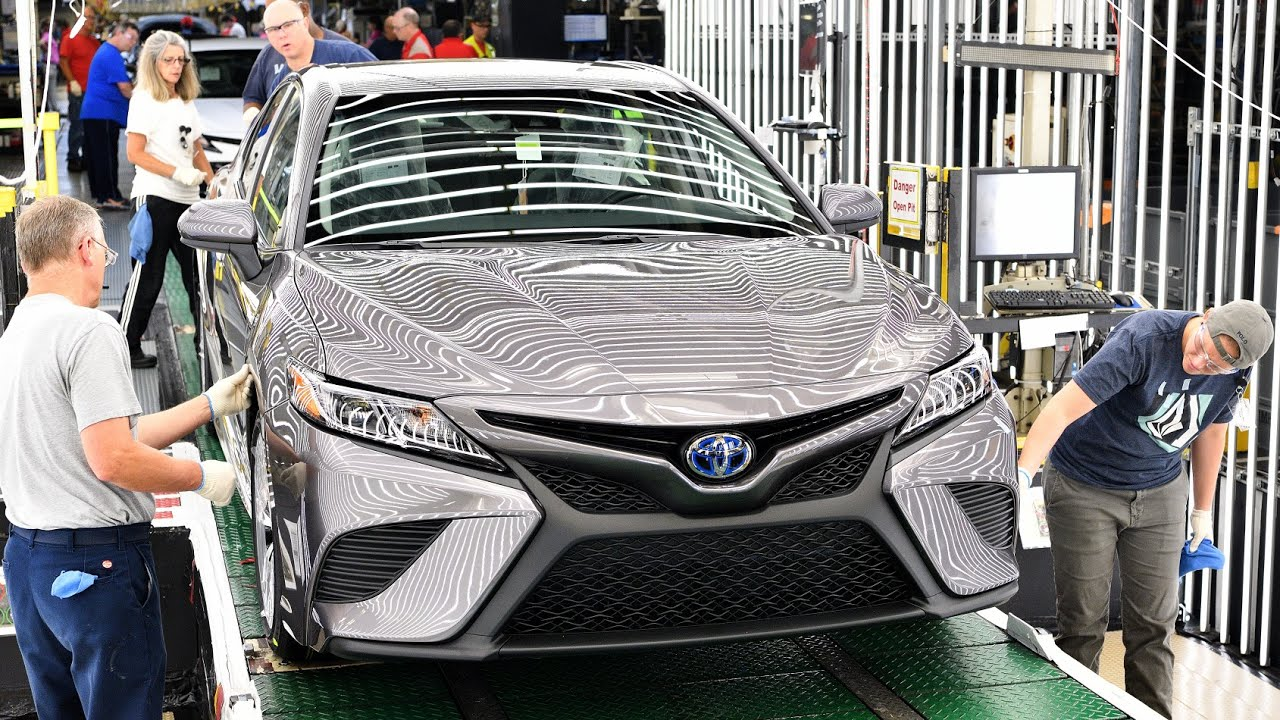 2018 Toyota Camry Production Launch At Toyota Kentucky