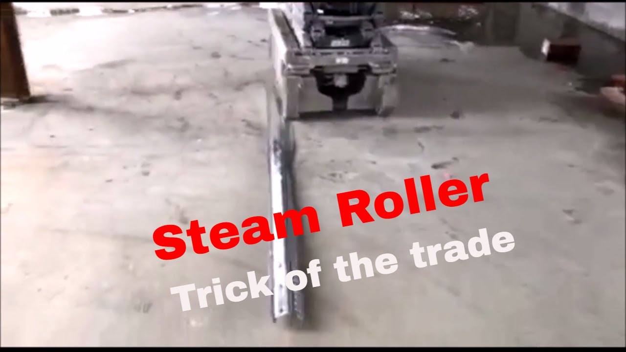 Ironwork trick of the trade! (The Steam Roller)