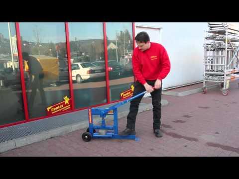 Video Steinknacker mieten bei Rentas, Kurzbeschreibung