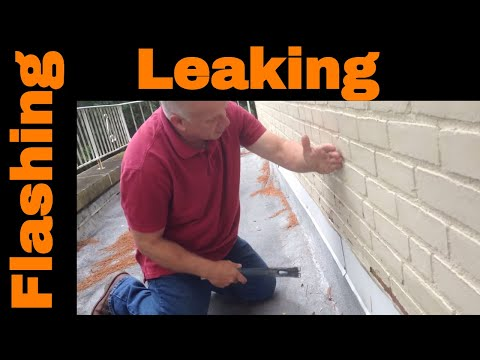 Flashing And Flat Roof Repairs Youtube