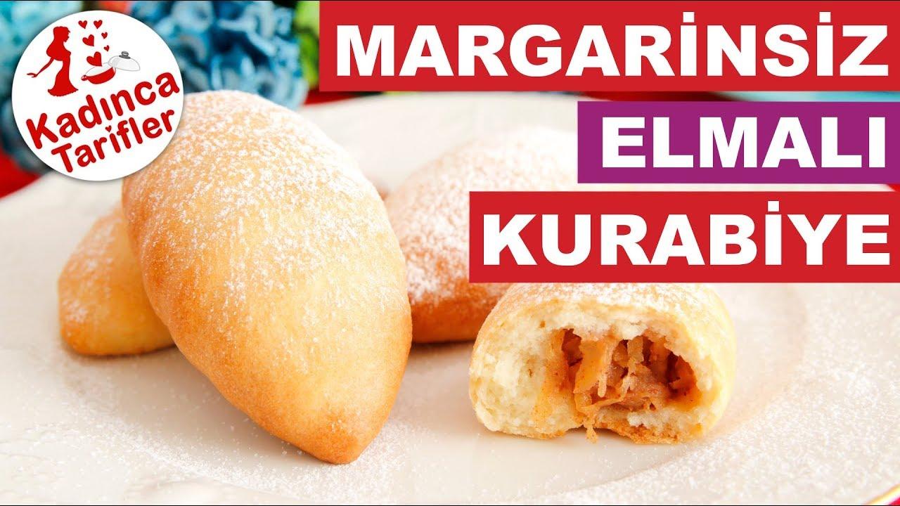 Margarinsiz Elmalı Kurabiye Tarifi Videosu