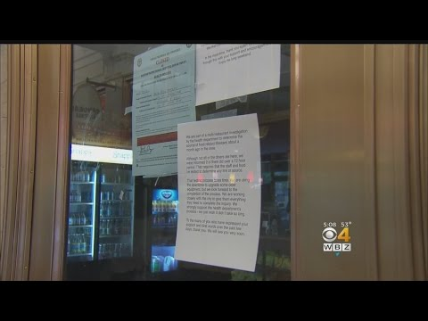 Two Back Bay Restaurants Shut Down By Health Department