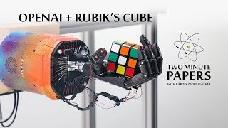 OpenAIs Robot Hand Won't Stop Rotating The Rubiks Cube