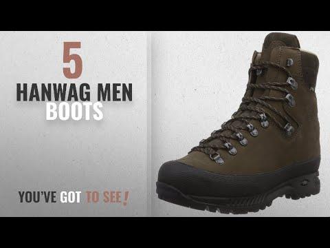 Top 10 Hanwag Men Boots [ Winter 2018 ]: Hanwag Alaska GTX Backpacking Boot - Men's-Dark