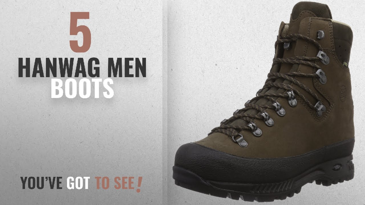 2b721b48cc Top 10 Hanwag Men Boots [ Winter 2018 ]: Hanwag Alaska GTX ...