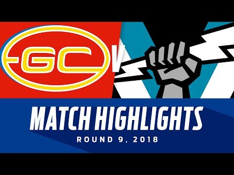 Match Highlights: Gold Coast v Port Adelaide | Round 9, 2018 | AFL