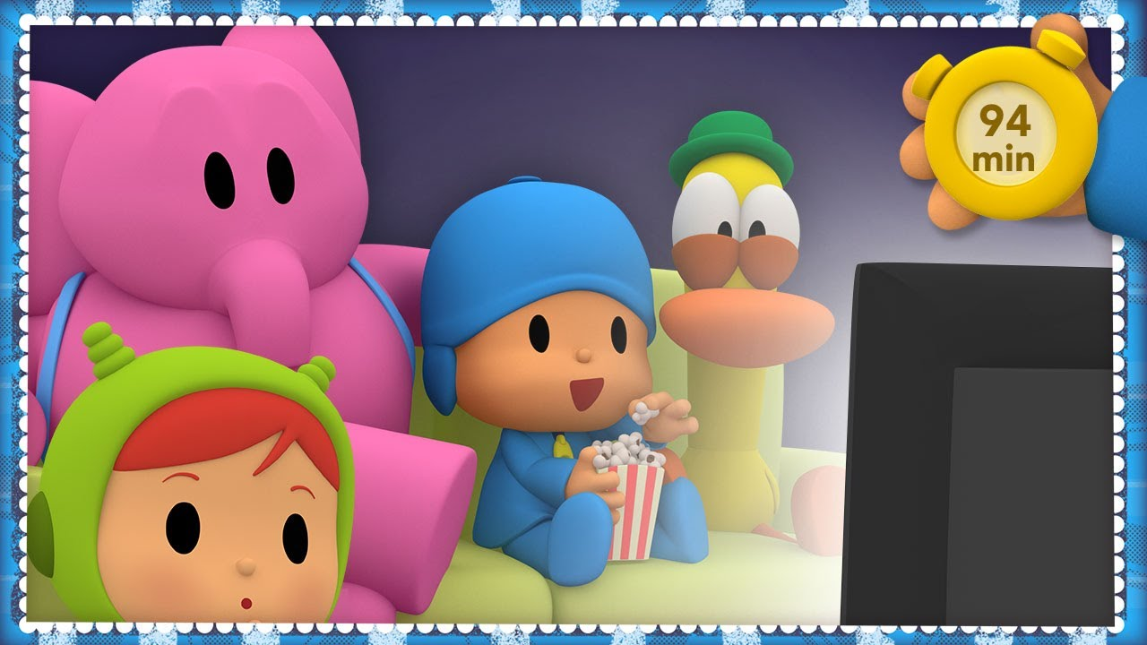 🎬 POCOYO AND NINA -  Live Animation Cinema [94 min] | ANIMATED CARTOON for Children | FULL episodes
