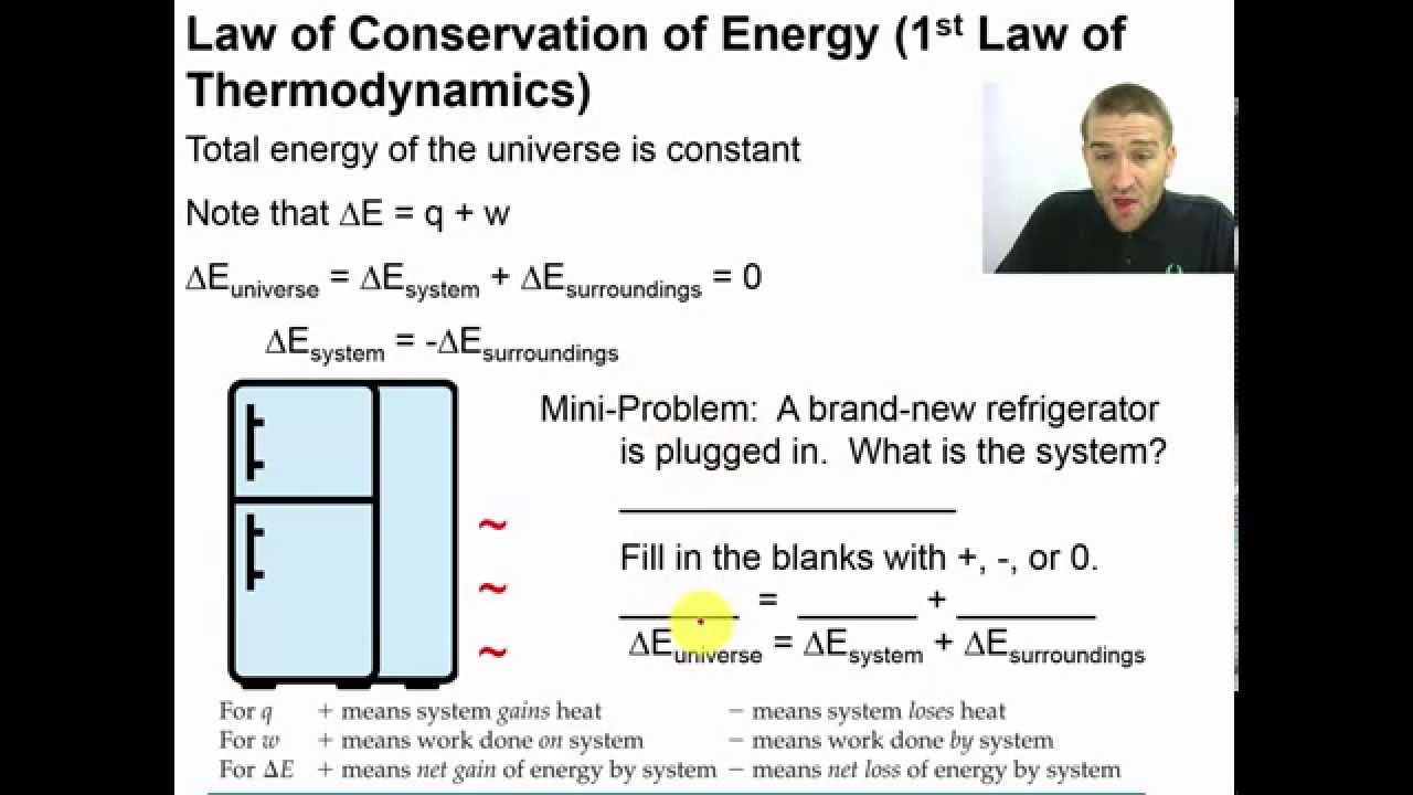 Coffee cup calorimeter problems - Chapter 10 07 Law Of Conservation Of Energy 1st Law Of Thermodynamics