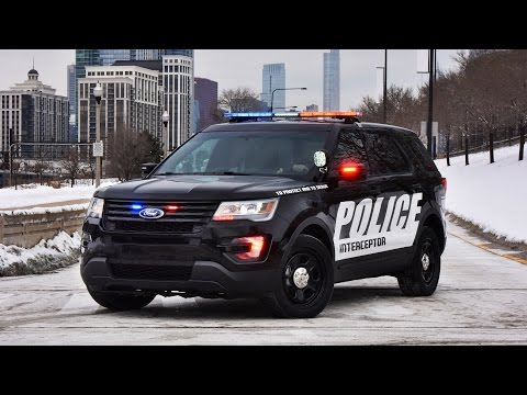 2016 Ford Police Interceptor Utility Exterior and Interior
