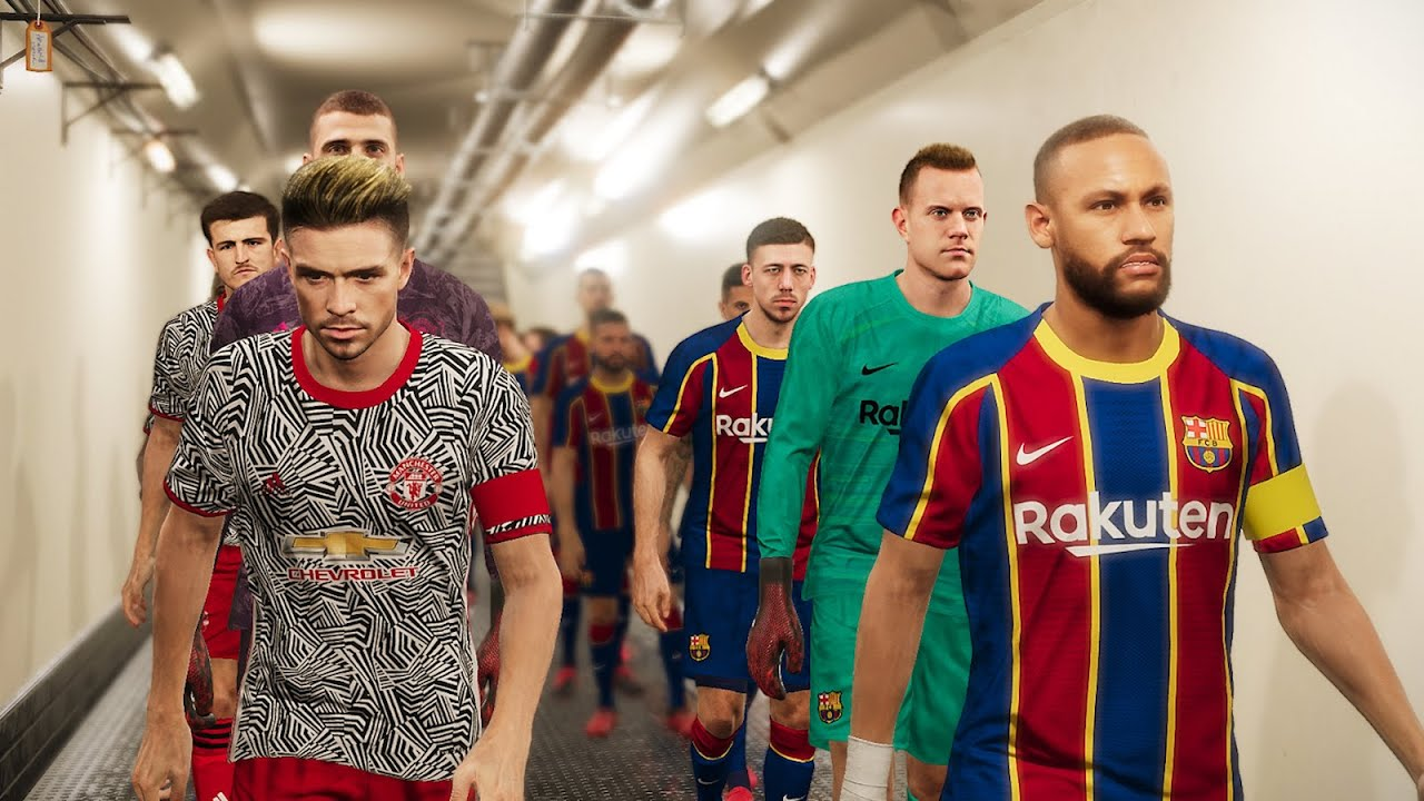 barcelona vs man united new kits 2020 21 potential lineup youtube barcelona vs man united new kits 2020 21 potential lineup