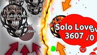 3X INSANE INSTANT SOLO REVENGE !! FUNNIEST AGARIO EVER! ( Agar.io )