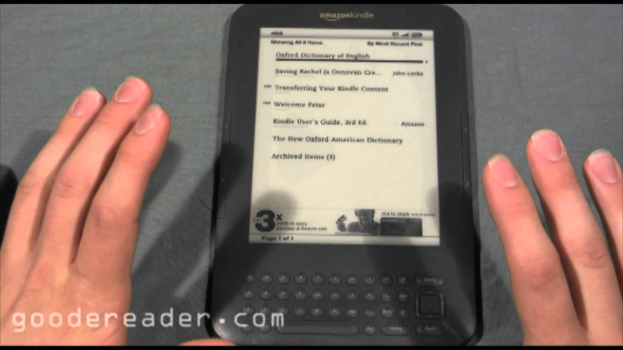 Amazon Kindle Special Offers Edition Review