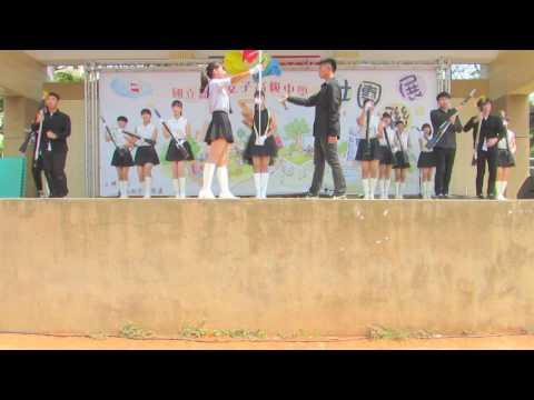 2017-04-29嘉女園遊會儀隊58屆x華陽儀隊表演《追儀童年》