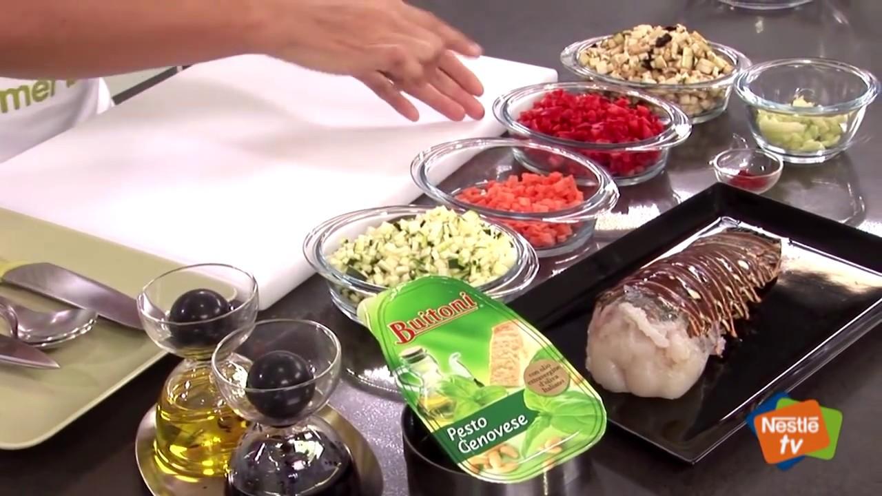 Nestle Tv Cocina | Langosta Con Tartar De Verduras Al Pesto Recetas Nestle Cocina