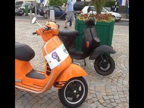 Irish Scootering Review of the Year 2013 - 10 mins long...