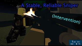 Roblox Phantom Forces - A Stable, Reliable Sniper (Intervention)
