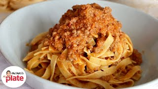 How to Make BOLOGNESE SAUCE like an Italian
