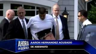 Aaron Hernandez acusado de asesinato