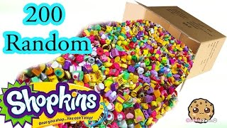 Mega Large Random Surprise Lot of 200 Shopkins Season 2, 3, 4 & Exclusives - Video Cookieswirlc(MEGA LARGE Package unboxing and review of 200 Shopkins that I ordered in a random lot! It is a complete mystery surprise which Shopkins are inside, ..., 2016-03-17T18:16:42.000Z)