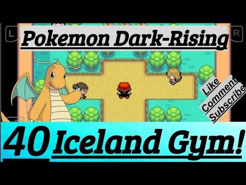 Pokemon Dark-Rising Part 40 PokeFan Battle Trainers In Gym At Iceland City