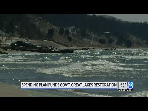 Federal spending bill doesn't touch Great Lakes funding