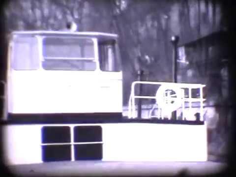 nakládka cukru do plavidla MN-7707 na Mělníku v roce 1963