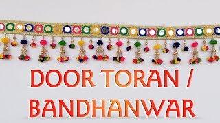 Pom Pom Door Toran | DIY Door Hanging | Bandhanwar | Go Handmade