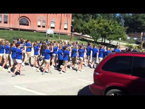 Plattsmouth Middle School marching band